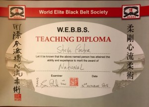 NATIONAL INSTRUCTOR WORLD ELITE BLACK BELT SOCIETY