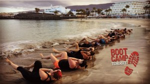 BOOTCAMP  FITNESS  TRAINING  HOLIDAY  TENERIFE