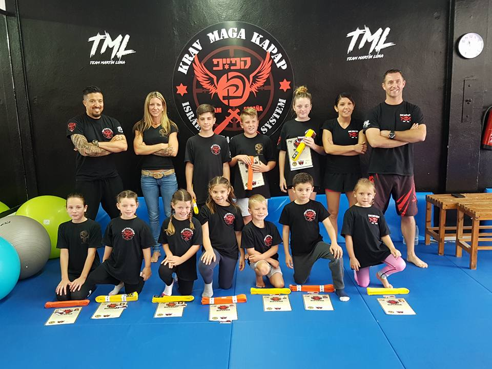 Specifically designed for childrenKrava Maga Training for children
