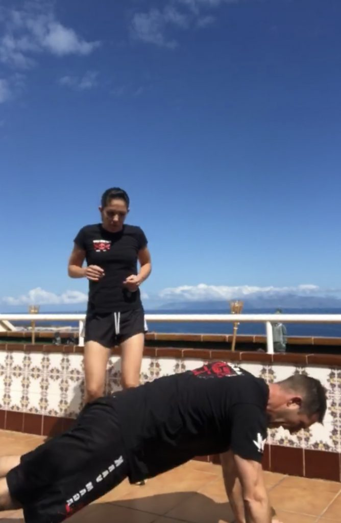 BOOTCAMP ON THE BALCONY
